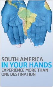 Experience more than one destination in South America