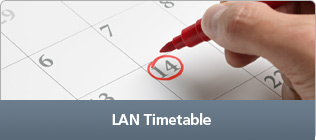 LAN - Timetable
