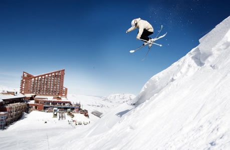 Discover skiing in South America