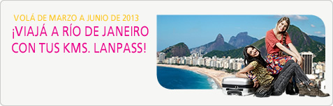 &iexcl;Aprovech&aacute; R&iacute;o de Janeiro! Viaj&aacute; de marzo a junio
