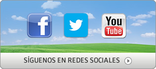 S&iacute;guenos en redes sociales
