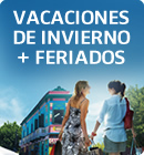 Vacaciones de invierno + Feriados