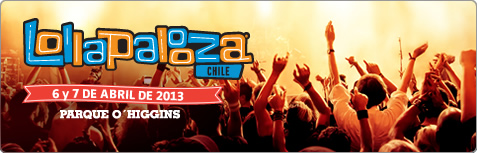 Vibra con Lollapalooza en Santiago
