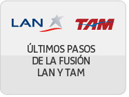LAN y TAM intenci&oacute;n de asociarse