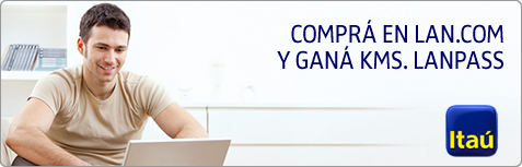 TUS COMPRAS EN LAN.COM ACUMULAN KMS. LANPASS
