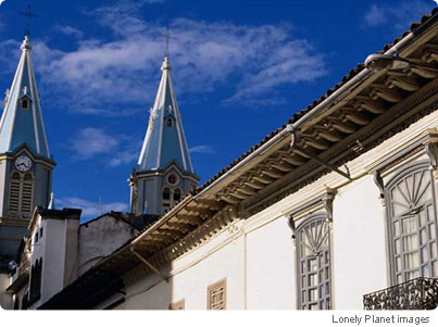 Cuenca s exquisite colonial architecture basks in the sunshine