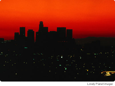 City of Angels, Capital City with a beautiful sunrise.
