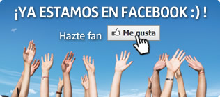 ¡Ya estamos en Facebook :)!